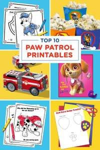The Top 10 PAW Patrol Printables of All Time - Nickelodeon