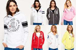 New Womens Superdry Hoodies Various Styles & Sizes £22.99 Superdry ebay Free Delivery