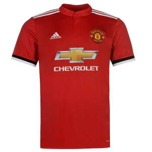 Manchester United 2017/18 Football Shirt (Can be Personalised) - £34.99 Delivered @ Kitbag
