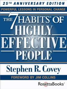 A New Year, A New You by Stephen Covey - Kindle Edition - 99p @ Amazon