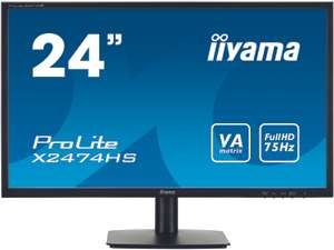"iiyama ProLite 24"", VA Panel, 4ms, 75hz, Speakers, Headphone Socket - £106.34 @ Technoworld"