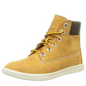 Timberland Groveton 6In Lace WI, Unisex Kids' Ankle Boots, Beige (Wheat) - £35 @ Amazon - Sold and Despatched by Legend Footwear
