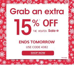 Vertbaudet Winter SALE continues! UP TO 60%* OFF and with an irresistible EXTRA 15%* OFF! Bundle up and save...