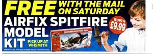 Airfix Spitfire Model Kit (Worth £9.99) - Voucher in Saturday's (13th Jan) Daily Mail (£1) - Pick up at W H Smith and Eason in NI