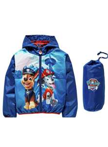 PAW Patrol Blue Packaway Jacket £6.99 at Argos