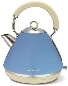 Morphy Richards Accents Pyramid Blue 1.5L Rapid Boil kettle - £19.99 Argos eBay (free delivery)