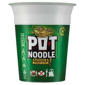 Pot Noodle reduced to £0.50 at Asda and Morrisons but will be £0.10 via TCB Snap & Save with the £0.40 cashback