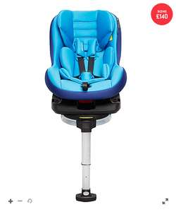 Mothercare havana ISOFIX combination car seat - blue £40