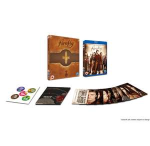 Firefly - Complete Series 15th Anniversary Edition Blu-ray £13.49 with code @ Zavvi