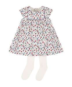 Baby girls age upto 3 months, floral dress & tights set was £20 with 90% off NOW £2 @ mothercare (free c&c or +£3.95 delivery))