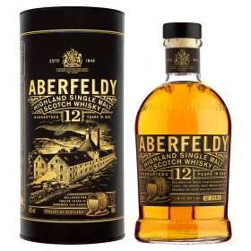 Aberfeldy Highland Single Malt Scotch Whisky £25 @ Asda