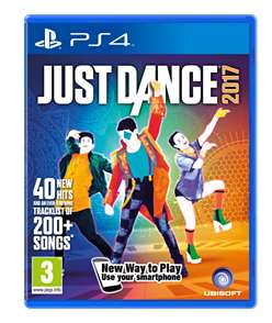Just Dance 2017 (PS4) £10 Delivered @ GAME (Amazon Matched)