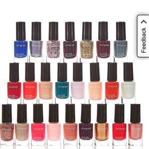 24 nail polishes for £15.99 at M&S - free collect instore