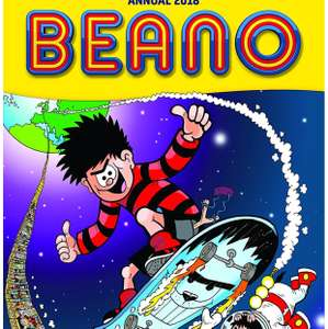 Beano annual 2018 £1.50  (Prime) / £4.49 (non Prime) at Amazon