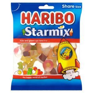 Haribo Starmix  / Haribo Supermix  / Haribo Strawbs  / Haribo Tangfastics  50p  @ Morrisons