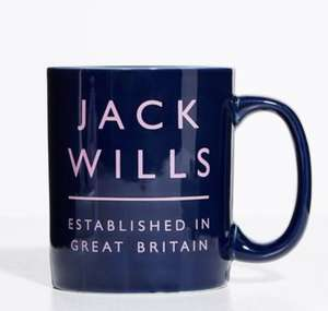 Jack Wills Mug - 2 Styles - Free store collect - 79% off (using code) - £2.40