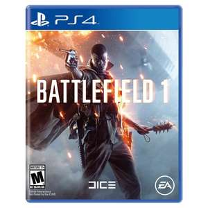 battlefield 1 pre owned ps4 and xbox one £9.99 @ Grainger games
