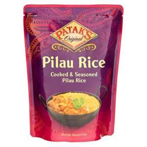 PATAK Pilau Rice - 50p at Poundland - 250g microwave pouch