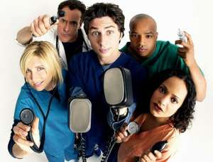 Scrubs Season 1 (24 Episodes) £3.99 at Google Play Store