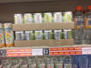 Britvic spicy Ginger Ale cans 150ml case of 24 £2 @ fulton foods!
