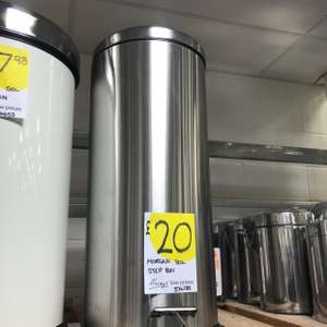 Morgan 30L step bin £20 - Homebase