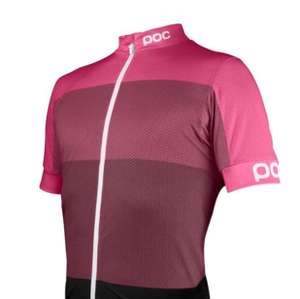 POC FONDO LIGHT JERSEY PINK - 65% off, was £127.95 - £44.95 / £51.94 delivered @ Canyon