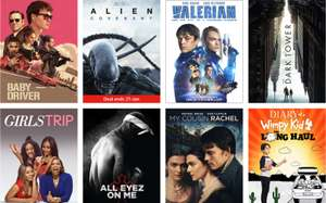 Amazon Prime £1.99 HD Movies Rental - is back