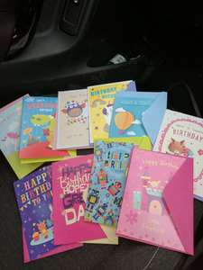 Card Factory 10 cards for £1