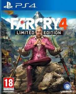 Far Cry 4 ps4 pre owned £6.65 with code @ Music magpie