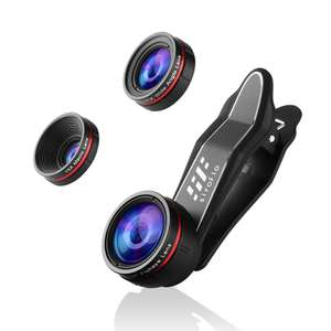 Siroflo 3 in 1 Cell Phone Camera Lens Kit £6.26 Delivered with code @ Dresslily