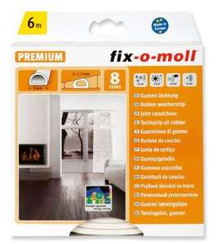 Fix-o moll Premium weatherstrip 6m - 50p instore @ Homebase