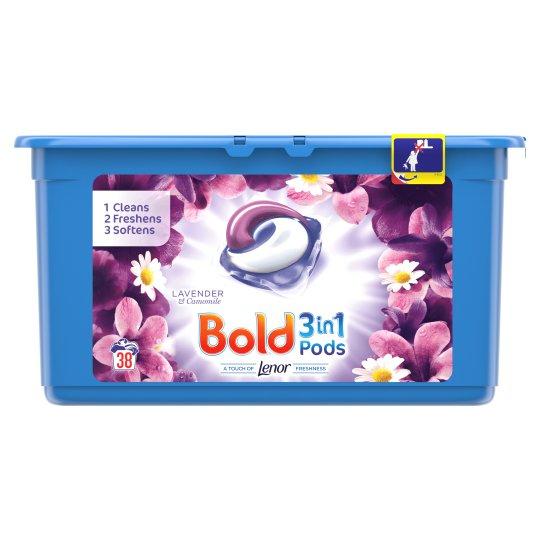 bold washing pods 38 pk £3 at Asda - Beverley