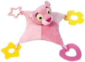 Lelly Lelly770611 Baby Pink Panther Teethe Toy in Single Box