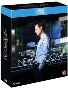 Newsroom series 1 to 3 on Blu-ray at £14.99 from Coolshop