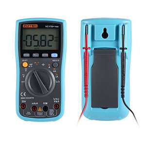 Zotek VC17B+ 6000 Count, True RMS Multimeter £16.99 Prime / £21.74 non Prime - Sold by gigglesmiles4U and Fulfilled by Amazon