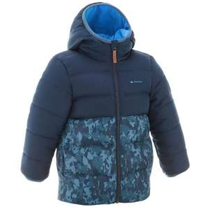 QUECHUA X-WARM BOYS' PADD HIKING JACKET-BLUE £7.49 @ Decathlon - Free c&c