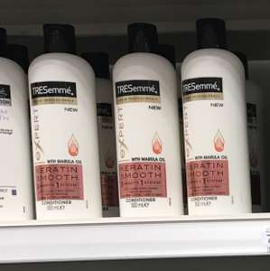 TRESemme Keratin Smooth Conditioner & Shampoo £1.35 @ Superdrug instore - Haringey