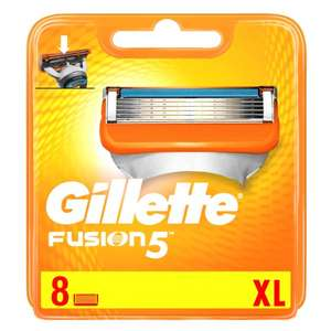 8 Gillette Fusion Razor Blades £11.00 (using your £4.00 voucher - link in description) / £15 without voucher @ Tesco