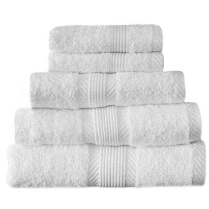 Catherine Lansfield Home 100% Cotton Bath Towel, White 69p @ Amazon -(Add on item) Add on item