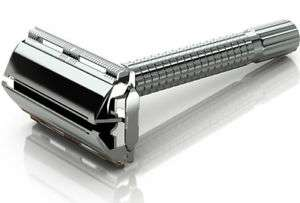 TWO Mens Traditional Vintage Butterfly Safety Razor And 12 Double Edge Shaving Blades £5.99 Delivered @ oliviatraders/ebay