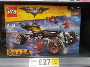 Lego batmobile 70905 £27 @ Tesco - instore