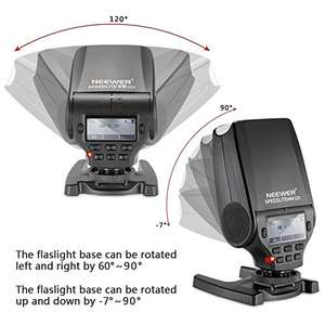 Neewer NW320 compact Speedlite  Flash for Sony £42.49 Sold by Various sellers & Fulfilled by Amazon lightning Deal