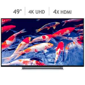 Toshiba 49U6763DB 49 Inch 4K Ultra HD Smart TV £348.99 @ Costco with Extended 5 Year Warranty