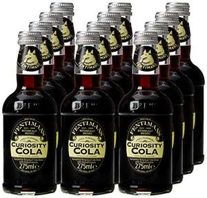 Fentimans Curiosity Cola, 12 X 275ml £1.55 @ Amazon (Addon)