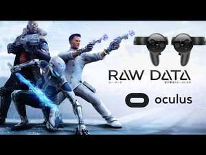 Raw Data Free weekend starts 7am Friday 12th January @ Oculus Home