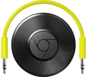 Used GOOGLE Chromecast Audio Black £21.60 from Curry's ebay(12 months guarantee)