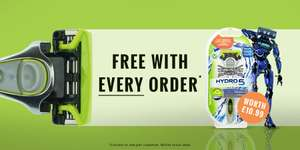 Free Wilkinson sword hydro 5 sensitive razor with every order @ The Gift & Gadget Store
