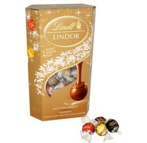 Lindor assortment 600g £1.30 / 42 piece Ferrero Rocher £1.30 / 48 piece Ferrero Rocher assortment £1.40 @ Sainsbury's
