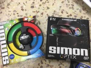 Simon Swipe and Simon Optix £6.50/£7.50 @Tesco