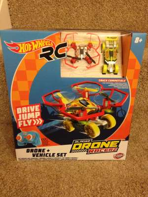 Hot Wheels RC Bladez Drone Racerz £8.75 in store Tesco Swansea